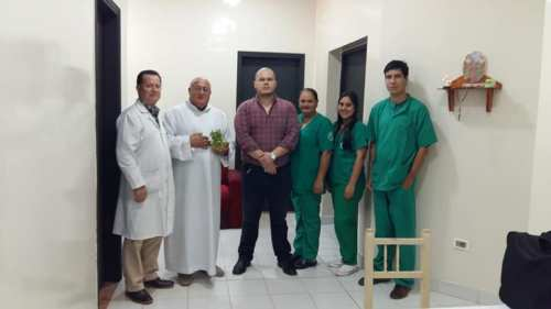 equipo de cirujia hospital de piribebuy