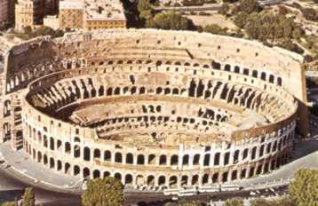 El Coliseo Romano lucha de gladiadores en Roma Historia Anfiteratro Flavio