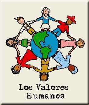 los valores humanos dibujo solidario