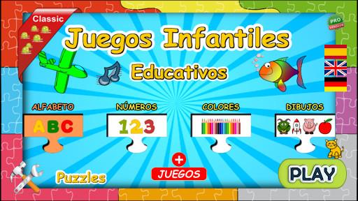 Juegos Infantiles Educativos para Android  Descargar Gratis