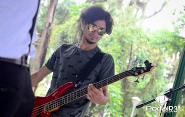 Banda Radiola no projeto Sons do Bosque em Pindamonhangaba. (Foto: Luis Claudio Antunes/PortalR3)