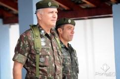 Visita do General Novaes, comandante da 2ª DE, ao Batalhão Borba Gato. (Foto: Luis Claudio Antunes/PortalR3)