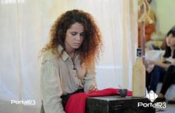 atriz e professora de artes que preside o conselho, Raissa Lorena Corrêa, a Pitanga. (Foto: Luis Claudio Antunes/PortalR3)