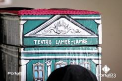 """""""Teatro Lambe-lambe"""" no Feste 2018. (Foto: Luis Claudio Antunes/PortalR3)"""