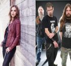 Lzzy Hale recebe em seu podcast Mark Morton, do Lamb of God