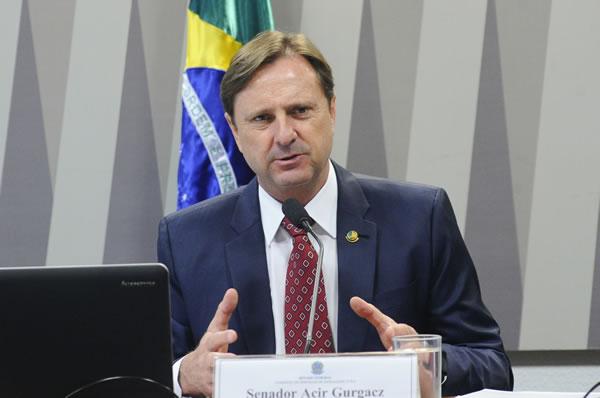 Senador Acir Gurgacz - PDT-RO