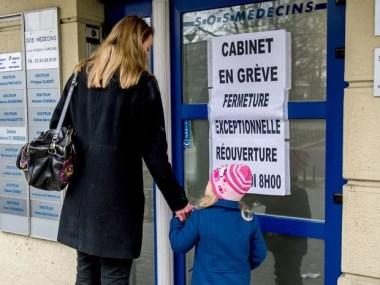 Greve de médicos franceses segue na segunda semana