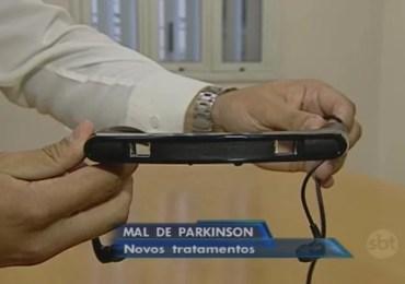 Óculos especiais ajudam pessoas com Parkinson a andar