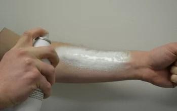 Hemorragia interna é controlada por spray de espuma