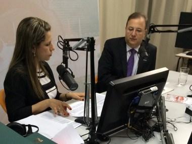 Entrevista com o Secretário da Saúde, Fábio Vilas-Boas