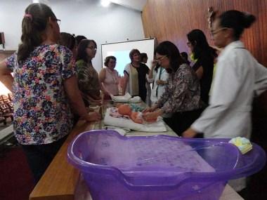 Ministério da Saúde e HGRS capacitam tutores para atender prematuros na rede básica