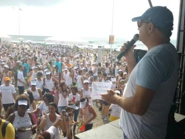 Quatro mil participam da I Colorrida do Martagão Gesteira