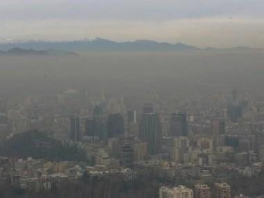 Chile decreta emergência ambiental devido a poluição