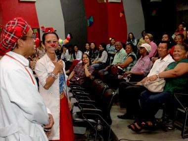 Pacientes celebram São João