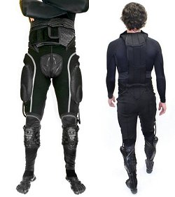 Idosos têm ajuda de roupa robótica