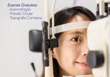 Exames oftalmológicos gratuitos