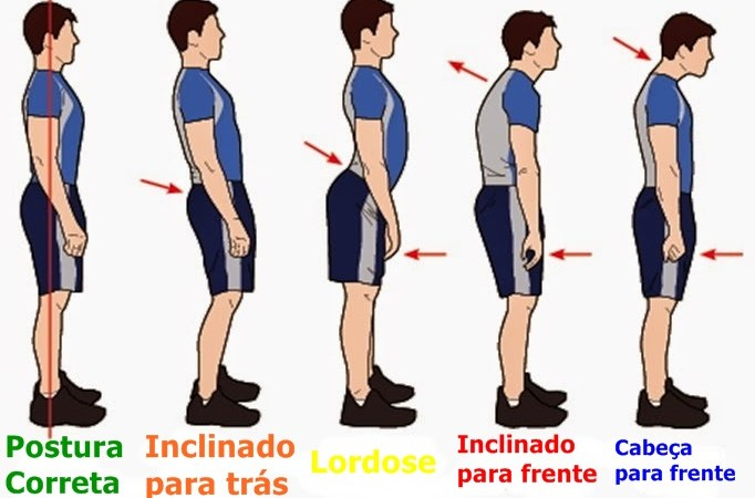 Boa postura diminui  barriguinha indesejável
