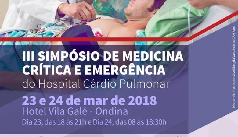 III Simpósio de Medicina Crítica e Emergência