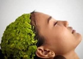 Hidratação dos cabelos com abacate