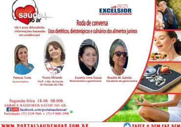 Usos dietéticos, dietoterápicos e culinários dos alimentos juninos