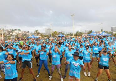 Hapvida +1K realiza treino especial em apoio ao novembro azul