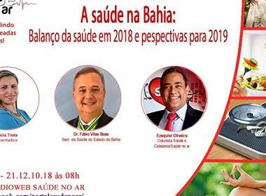 Entrevista com o Secretário de Saúde do estado, Fabio Vilas Boas