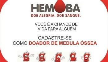 Hemoba continua realizando campanhas para doação de sangue