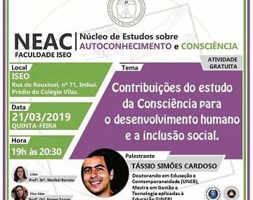 Contribuições do estudo da Consciência para o desenvolvimento humano e a inclusão social