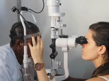 Atendimento oftalmológico grátis