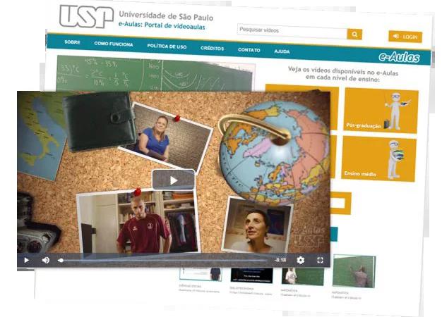 Estude na USP pela internet de qualquer  lugar do mundo
