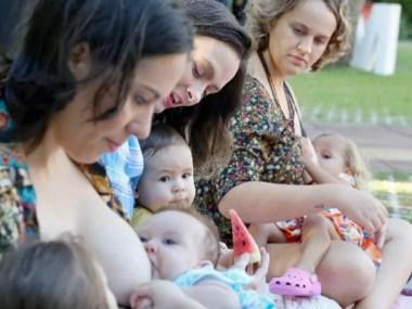 Mães se unem para incentivo à amamentação no Parque da Cidade neste domingo (25)