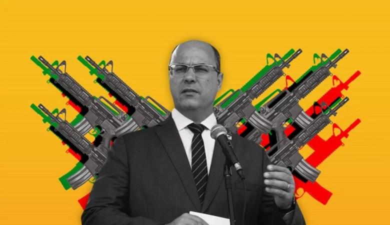 A política de segurança Pública criminosa de Wilson Witzel, governador do Rio