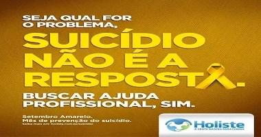 Encontro Holiste debate o tema: suicídio