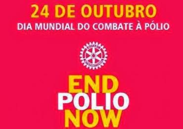 24 de outubro dia mundial contra Pólio