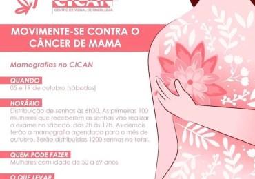 Movimente-se contra o câncer de mama