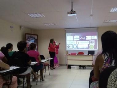 Patrícia Tosta realizou mais uma edição do  Projeto Girando a Fala