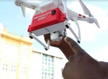 Cidade baiana usa drones para localizar focos de mosquitos