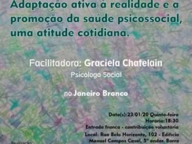 CIEG promove palestras sobre Psicologia Social Pichoniona