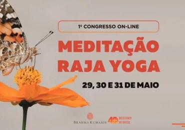 Congresso online gratuito de meditação Raja Yoga