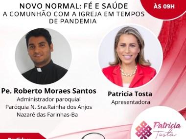 Novo normal: fé e Saúde, a Comunhão com a igreja em Tempos de Pandemia