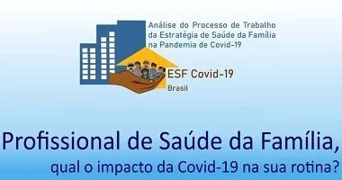 Fiocruz lança pesquisa sobre papel da saúde da família na covid-19
