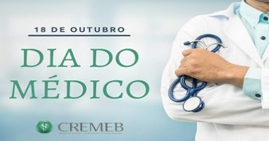 Cremed tem Solenidade virtual no Dia do Médico