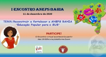"""ANEPS realiza evento sobre """"Educação popular em Saúde no SUS"""""""