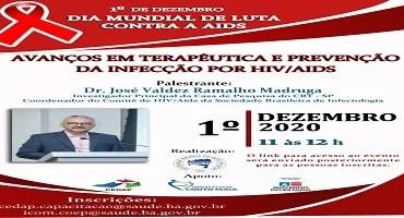 Evento online: Avanços em Terapêutica e Prevenção da Infecção por HIV\AIDS