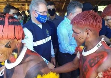 Ministério da Saúde realiza mutirão de Saúde no Xingu (MT)