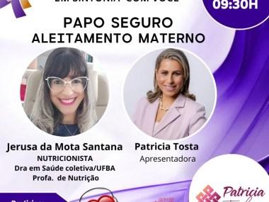 Papo Seguro-Os benefícios do leite materno- Entrevista