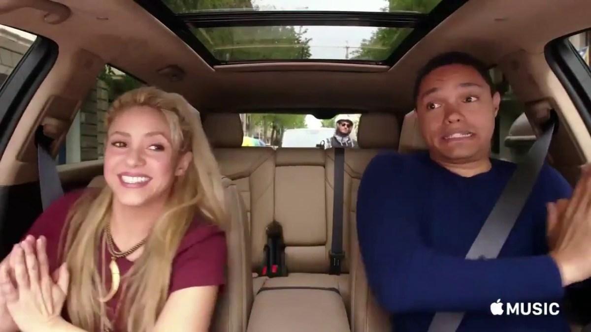 Vídeo Teaser De Shakira No Carpool Karaoke The Series