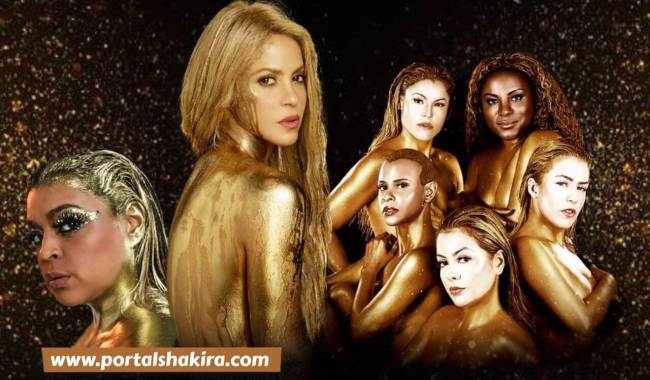 Preta Gil, Shakira e Rouge
