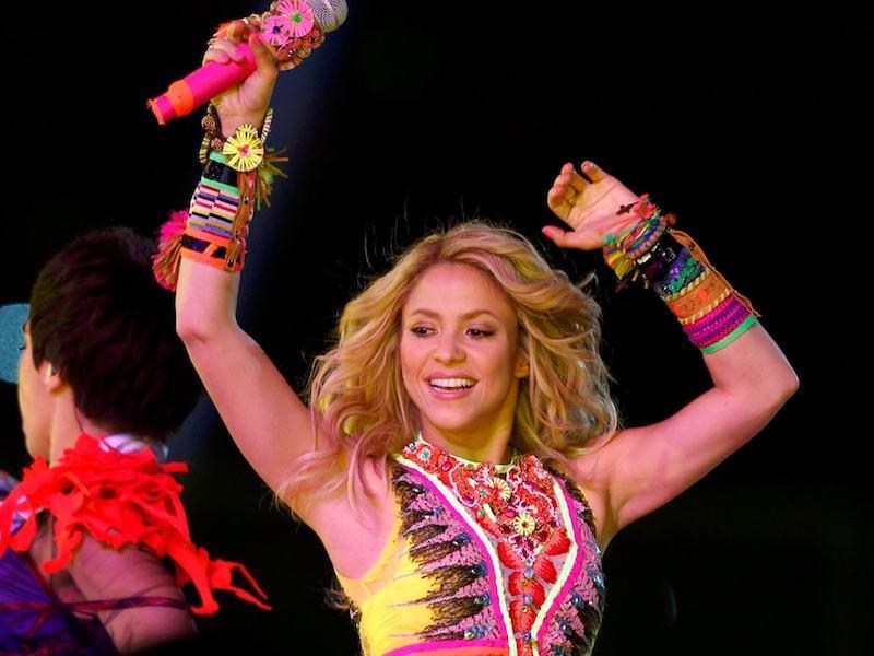 Shakira em salvador?