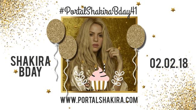 #PortalShakiraBday41
